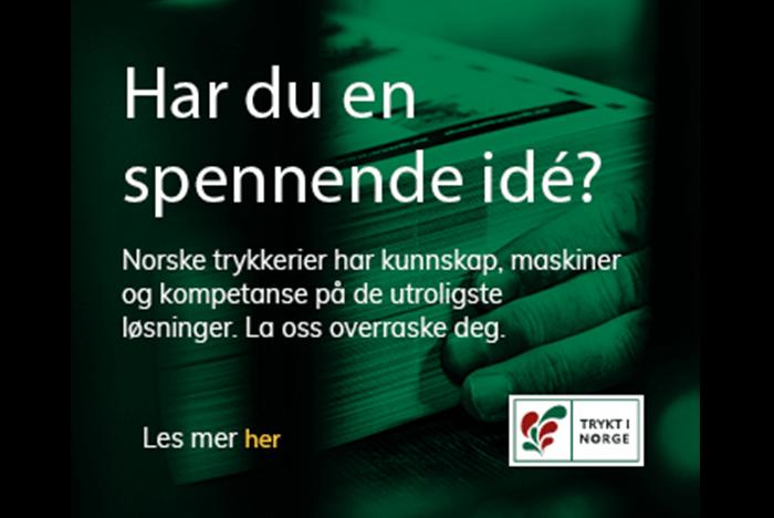 Fremsnakk Trykt i Norge i sosiale medier