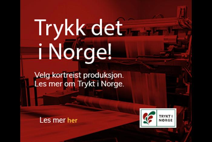 Trykt i Norge fremsnakk