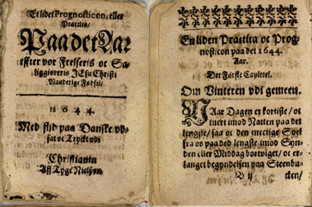 Den første boken i Norge